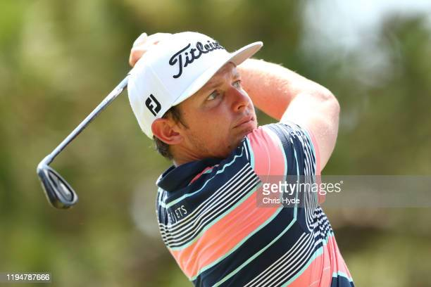 Cameron Smith of Australia plays a shot during day one of the PGA Championships at RACV Royal Pines on December 19 2019 in Gold Coast Australia