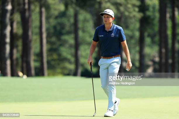Cameron Smith of Australia walks up the eighth hole during the final round of the 2018 Masters Tournament at Augusta National Golf Club on April 8...