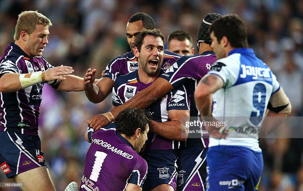 2012 NRL Grand Final - Storm v Bulldogs : ニュース写真