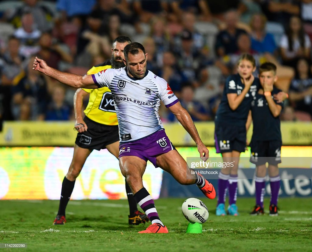 NRL Rd 5 - Cowboys v Storm : News Photo