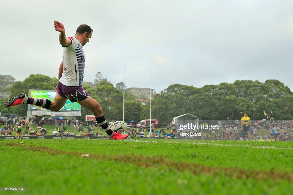 NRL Rd 1 - Sea Eagles v Storm : News Photo