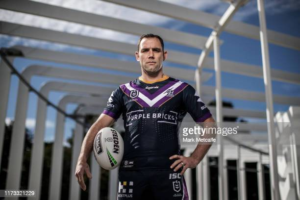 Cameron Smith of the Storm poses during the 2019 NRL Finals Series Launch at The Calyx on September 09 2019 in Sydney Australia