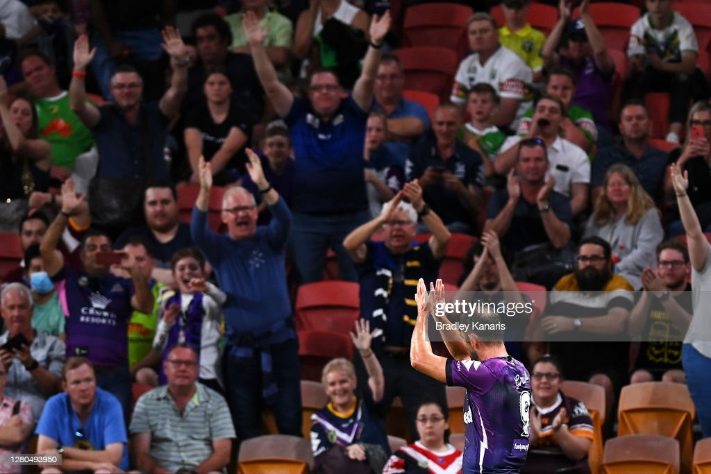 NRL Preliminary Final - Storm v Raiders : News Photo