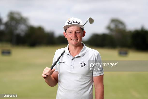 Cameron Smith poses ahead of the 2018 Australian PGA Championship at Royal Pines Resort on November 27 2018 in Gold Coast Australia
