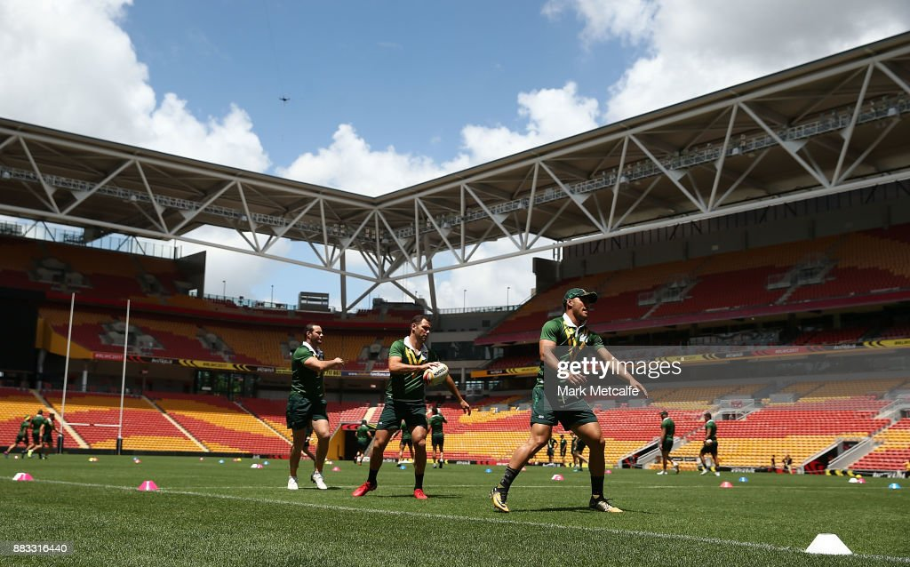 Australian Kangaroos Captain's Run