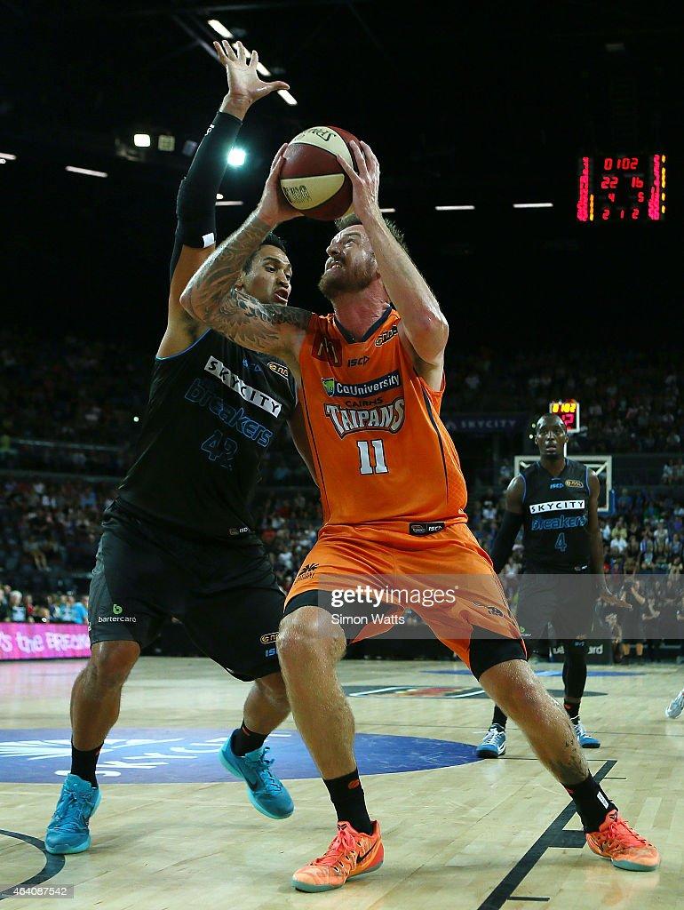 NBL Rd 22 - New Zealand v Cairns : News Photo