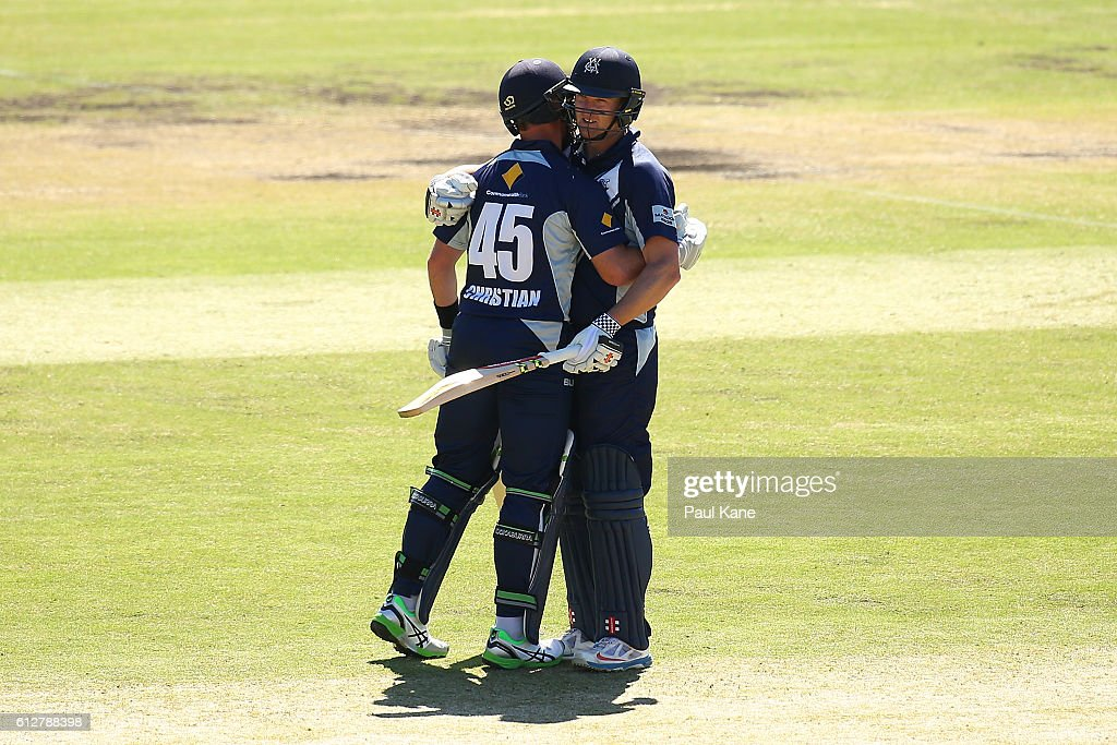 Matador BBQs One Day Cup - SA v VIC