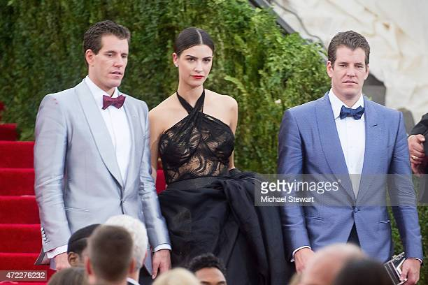 Cameron Winklevoss Natalia and Tyler Winklevoss attend the China Through The Looking Glass Costume Institute Benefit Gala at Metropolitan Museum of...