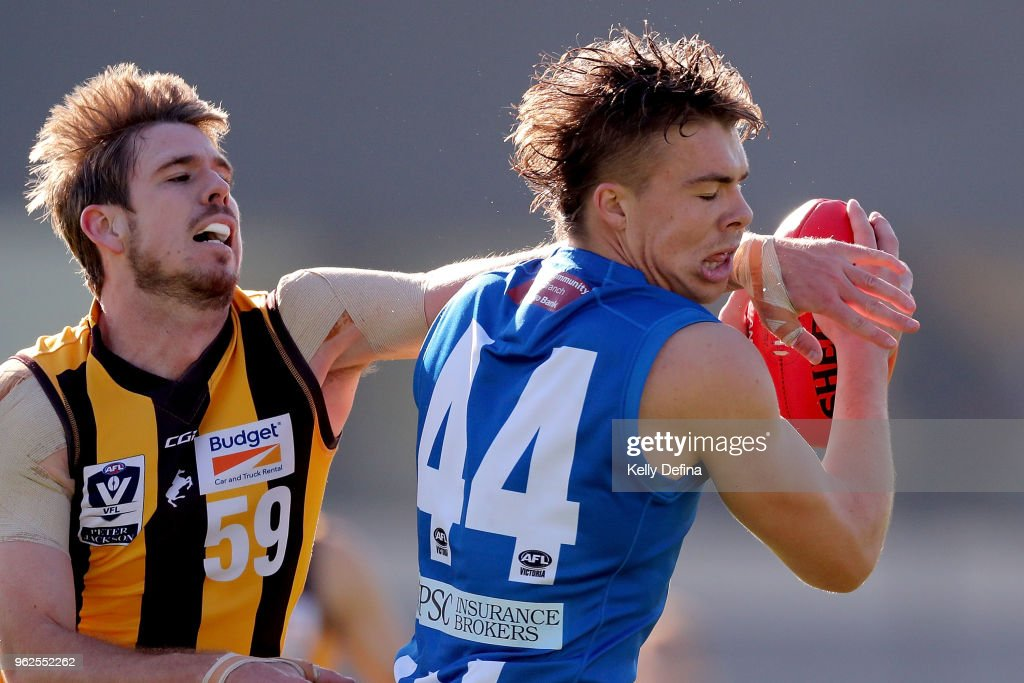 VFL Rd 8 - North Melbourne v Box Hill