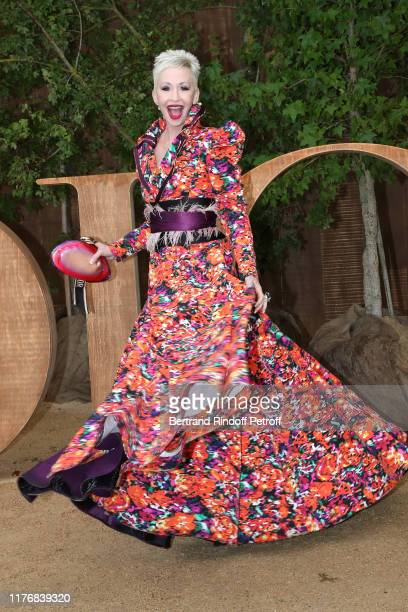 Camerone Parker attends the Christian Dior Womenswear Spring/Summer 2020 show as part of Paris Fashion Week on September 24, 2019 in Paris, France.