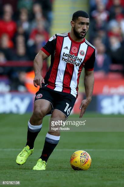Cameron'nCarterVickers of Sheffield United during the Sky Bet Championship match between Sheffield United and Hull City at Bramall Lane on November 4...