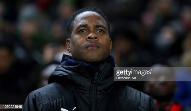 Cameroon assistant manager Patrick Kluivert ahead of the International Friendly match between Brazil and Cameroon at Stadium mk on November 20 2018...