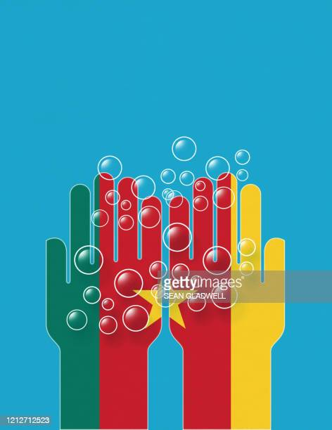 cameroon cleaning hands - cameroon stock pictures, royalty-free photos & images