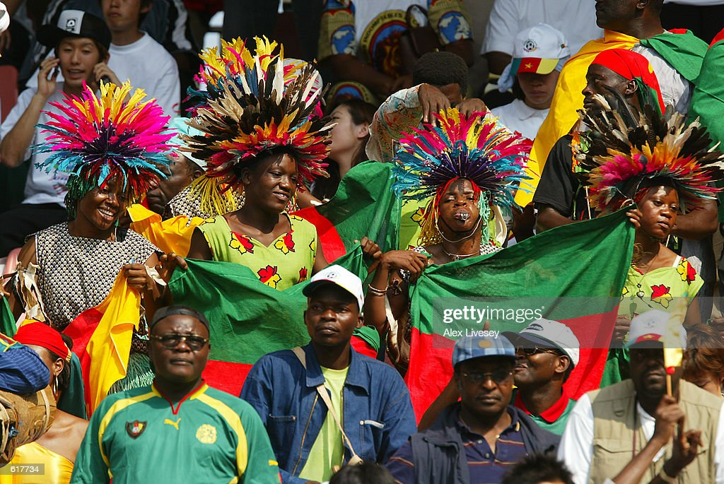 Cameroon Fans : News Photo