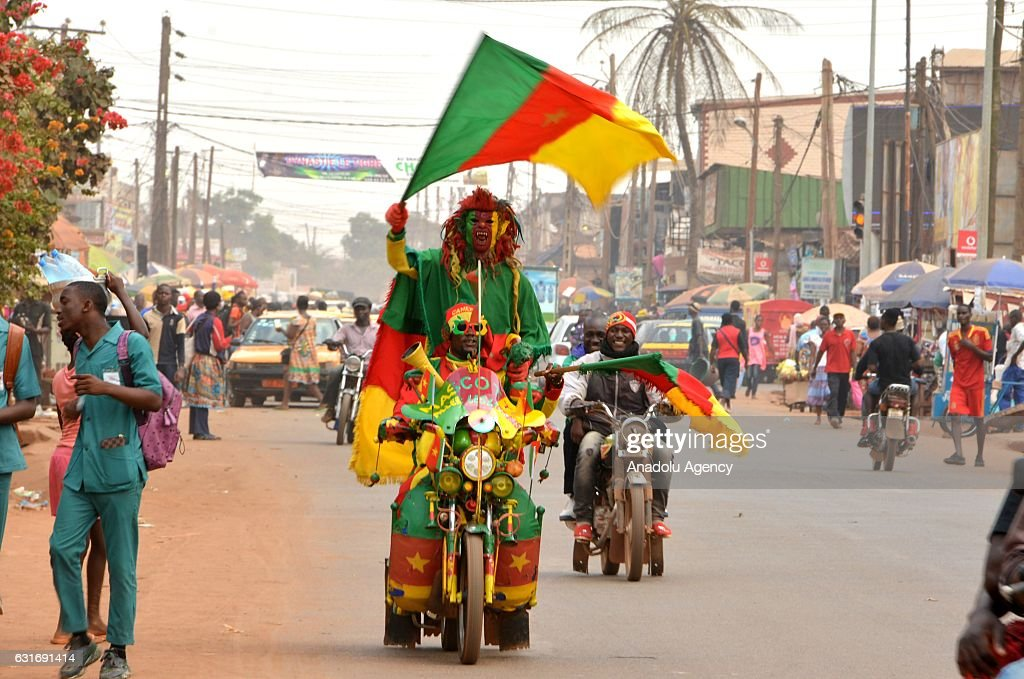 Excitement for the Africa Cup of Nations in Cameroon : News Photo