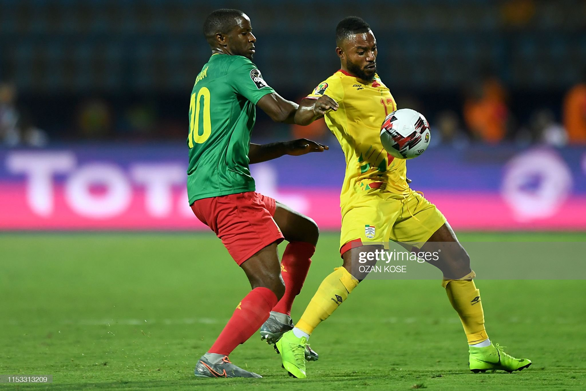 FBL-AFR-2019-MATCH35-BEN-CMR : Photo d'actualité