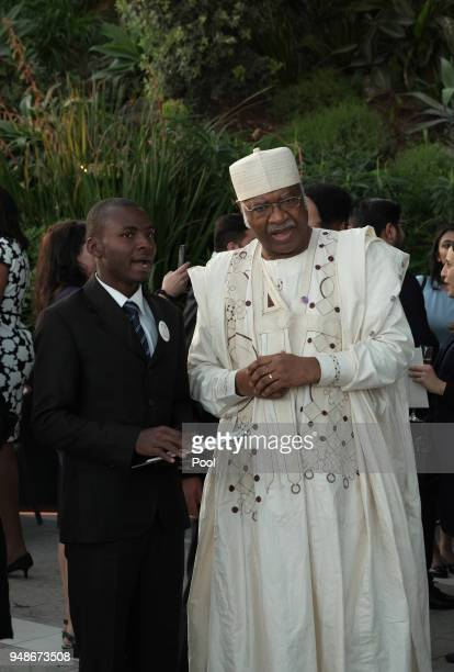 Cameroon's Prime Minister Philémon Yang during a welcome reception for the Commonwealth Heads of Government on day 4 of the Commonwealth Heads of...