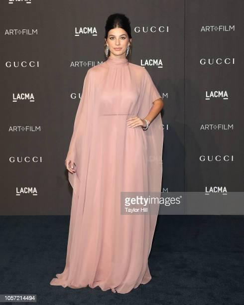 Cami Morrone attends the 2018 LACMA ArtFilm Gala at LACMA on November 3 2018 in Los Angeles California