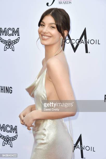 Cami Morrone attends The Daily Front Row's 4th Annual Fashion Los Angeles Awards Arrivals at The Beverly Hills Hotel on April 8 2018 in Beverly Hills...