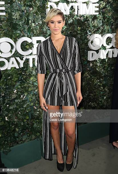 Camia Marie attends the CBS Daytime for 30 Years at The Paley Center for Media on October 10 2016 in Beverly Hills California
