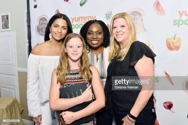 Camila Alves Agatha Achindu Cheryl Petran and Daniela Petran attend First Foods 101/Yummy Spoonfuls at Pump Station Nurtury on October 11 2017 in Los...