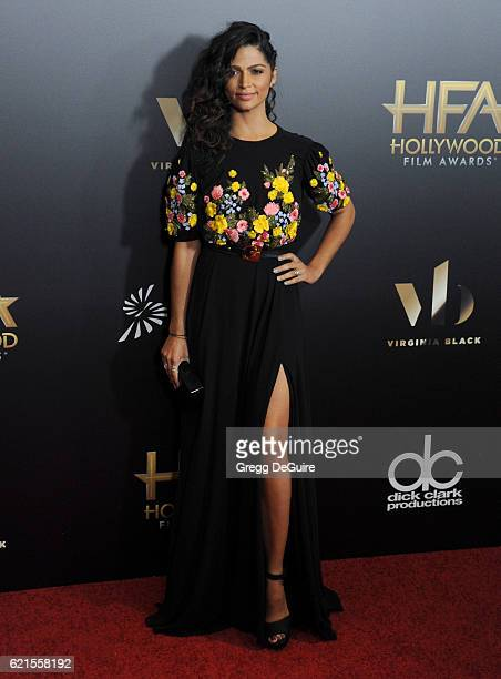 Camila Alves arrives at the 20th Annual Hollywood Film Awards at The Beverly Hilton Hotel on November 6 2016 in Los Angeles California