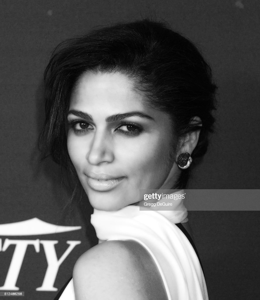 Camila Alves arrives at the 3rd Annual unite4:humanity at Montage Hotel on February 25, 2016 in Beverly Hills, California.