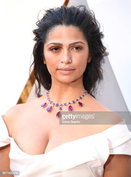 Camila Alves arrives at the 90th Annual Academy Awards at Hollywood Highland Center on March 4 2018 in Hollywood California