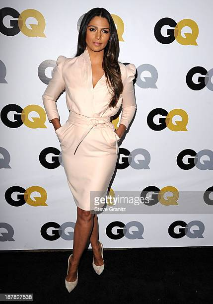 Camila Alves arrives at the GQ Men Of The Year Party at The Wilshire Ebell Theatre on November 12 2013 in Los Angeles California