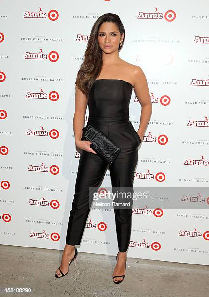 Camila Alves attends Annie For Target launch event at Stage 37 on November 4 2014 in New York City
