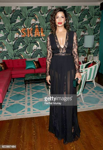 Camila Alves attends as The Weinstein Company celebrates the cast and filmmakers of 'Sing Street' 'Lion' 'The Founder' and 'Gold' at the private...
