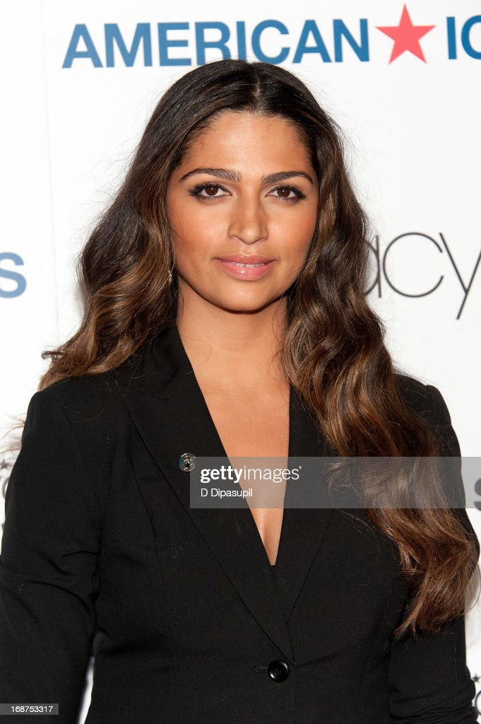 Camila Alves attends Macy's 'American Icons' Campaign Launch at Gotham Hall on May 14, 2013 in New York City.