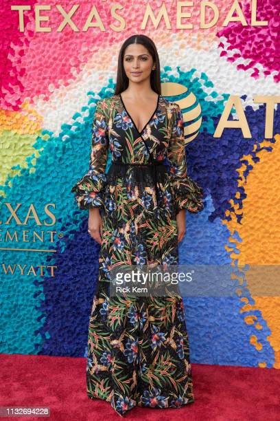 Camila Alves attends the 2019 Texas Medal Of Arts Awards at the Long Center for the Performing Arts on February 27 2019 in Austin Texas