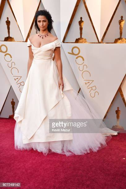 Camila Alves attends the 90th Annual Academy Awards at Hollywood & Highland Center on March 4, 2018 in Hollywood, California.