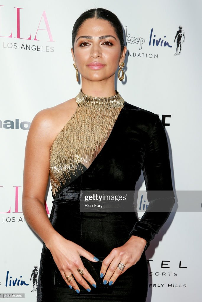 Camila Alves attends the BELLA Los Angeles Summer Issue Cover Launch Party at Sofitel Los Angeles At Beverly Hills on June 23, 2017 in Los Angeles, California.