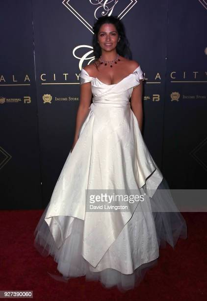 Camila Alves attends the City Gala 2018 at Universal Studios Hollywood on March 4 2018 in Universal City California