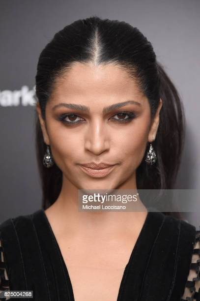 Camila Alves attends The Dark Tower New York Premiere on July 31 2017 in New York City