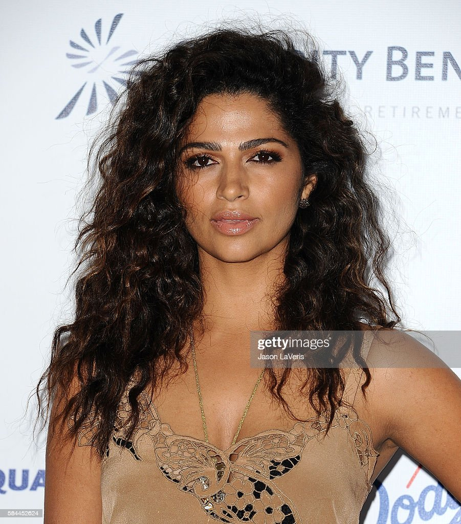 Camila Alves attends the Los Angeles Dodgers Foundation Blue Diamond gala at Dodger Stadium on July 28, 2016 in Los Angeles, California.