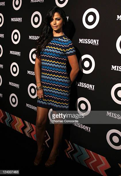 Camila Alves attends the Missoni for Target Private Launch Event on September 7 2011 in New York City