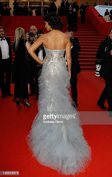 Camila Alves attends the 'Mud' Premiere during the 65th Annual Cannes Film Festival at Palais des Festivals on May 26 2012 in Cannes France