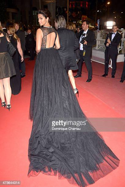 Camila Alves attends 'The Sea Of Trees' Premiere during the 68th annual Cannes Film Festival on May 16 2015 in Cannes France