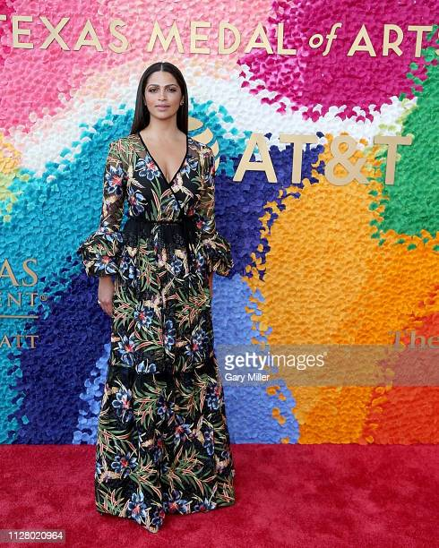 Camila Alves attends the Texas Medal Of Arts Awards at the Long Center for the Performing Arts on February 27 2019 in Austin Texas