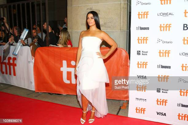 Camila Alves attends the 'White Boy Rick' premiere during 2018 Toronto International Film Festival at Ryerson Theatre on September 7 2018 in Toronto...