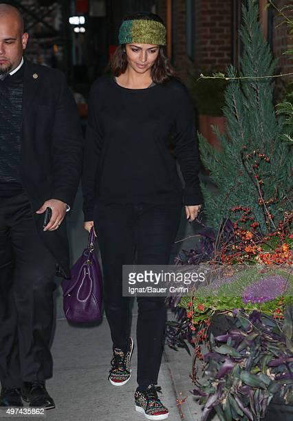 Camila Alves is seen on November 16 2015 in New York City