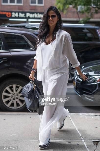 Camila Alves is seen on September 27 2018 in New York City