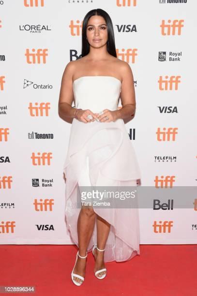 Camila Alves McConaughey arrives to the 2018 Toronto International Film Festival premiere of 'White Boy Rick' at Ryerson Theatre on September 7 2018...