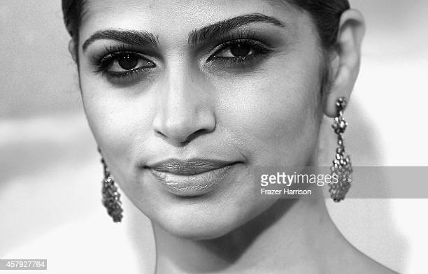 Camila Alves McConaughey attends the premiere of Paramount Pictures' Interstellar at TCL Chinese Theatre IMAX on October 26 2014 in Hollywood...