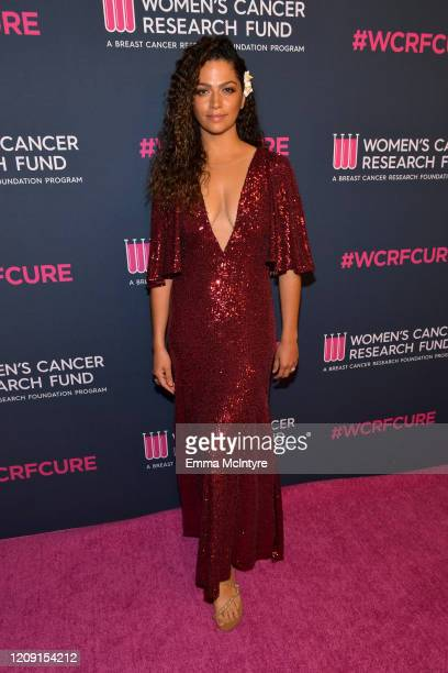 Camila Alves McConaughey attends WCRF's An Unforgettable Evening at Beverly Wilshire A Four Seasons Hotel on February 27 2020 in Beverly Hills...