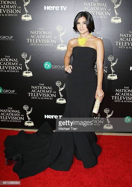 Camila Banus arrives at the 41st Annual Daytime Emmy Awards held at The Beverly Hilton Hotel on June 22 2014 in Beverly Hills California