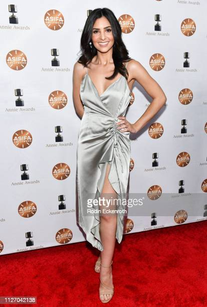 Camila Banus attends the 46th Annual Annie Awards at Royce Hall UCLA on February 02 2019 in Westwood California